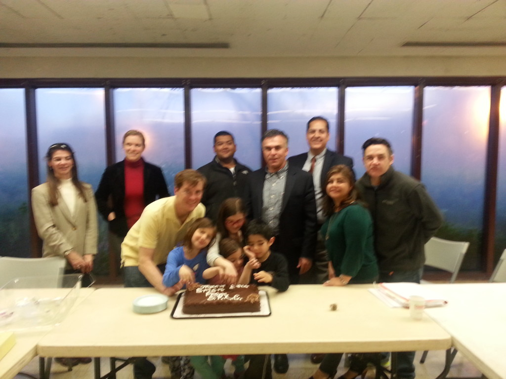 Erich Muellner Celebration with Group