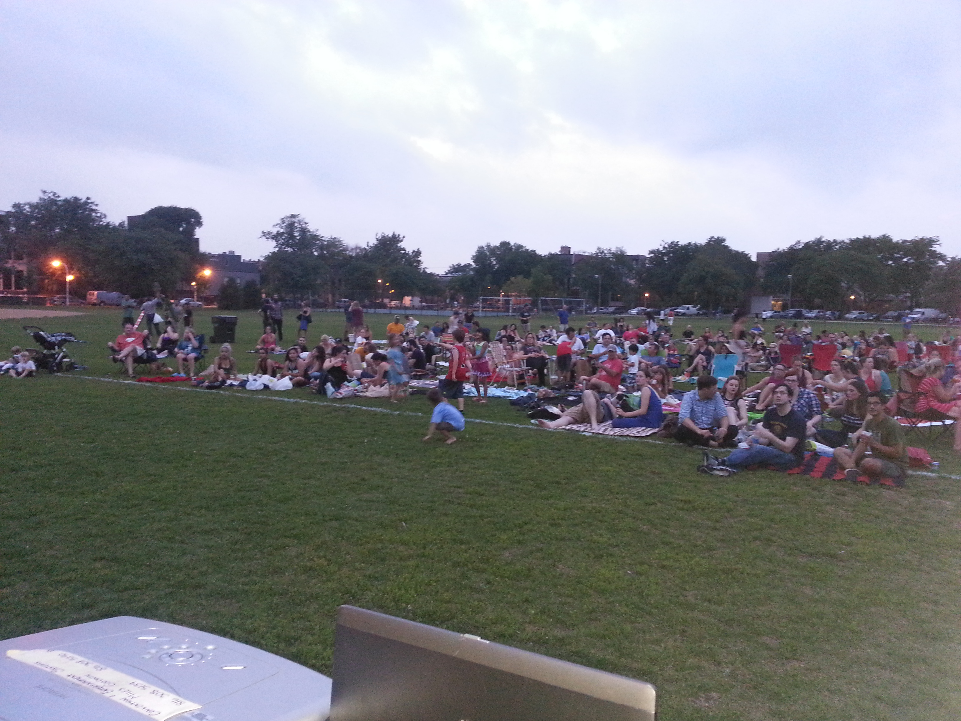 Movie in the Park, this years movie was GhostBusters