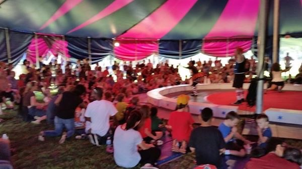 A look inside the 2014 Circus in the Park at Smith Park.