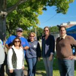 Marilyn Morales Chicago Park District Area Manger of the Central Region stops by Smith Park to say hello to the families and the advisory council. Morales thanked David Ramos for his leadership and his dedication to the park district.