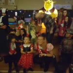 Many children enjoyed the music, skating, and spooky sounds while the Smith Park gym turned into a Roller Rink, special thanks to the Chicago Park District.