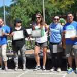 Organizers for the Smith Park West Town Dog Parade David Ramos president and parade chairman, Veronica Ramirez, Karen Gutierrez, Dana Blaylock, Kate Le Furgy, Jay Ramirez and Travis Bogle